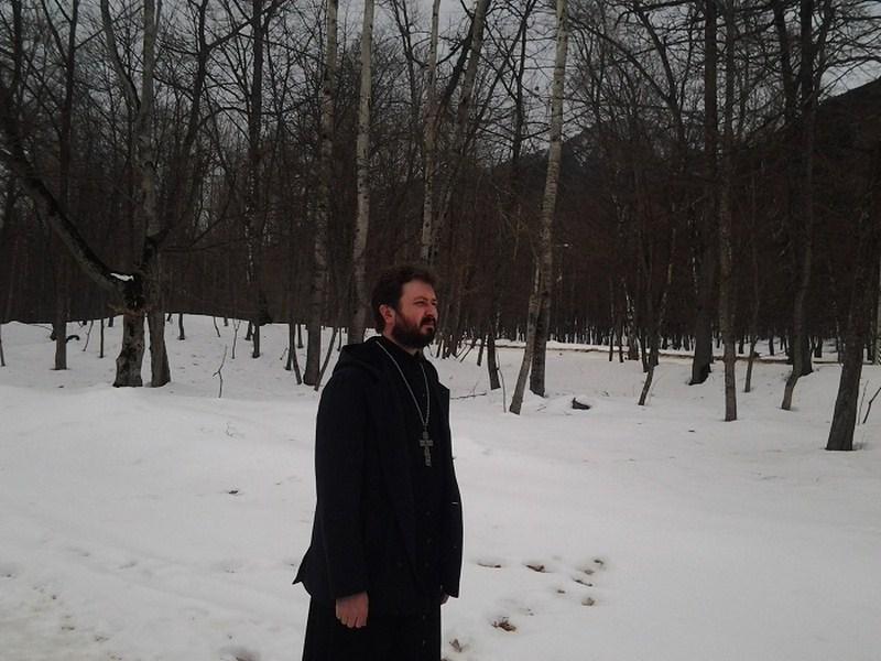 В Теберде произведена съемка места под строительство православного храма