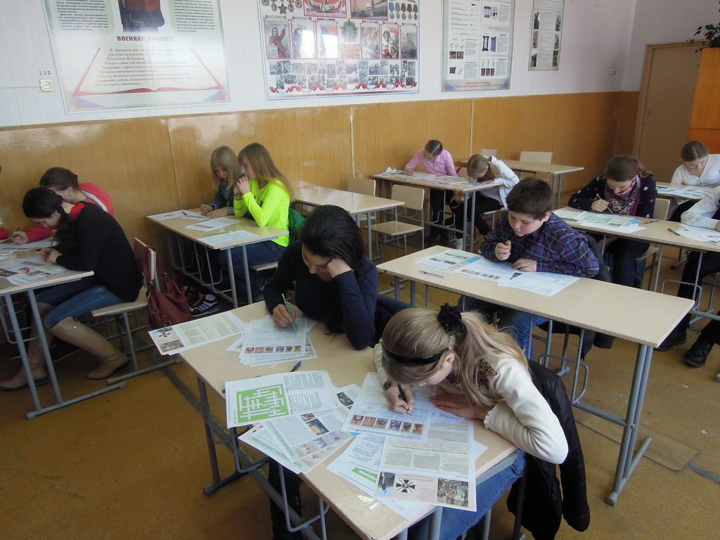 В Зеленчукском районе проходят олимпиады для учащихся общеобразовательных школ